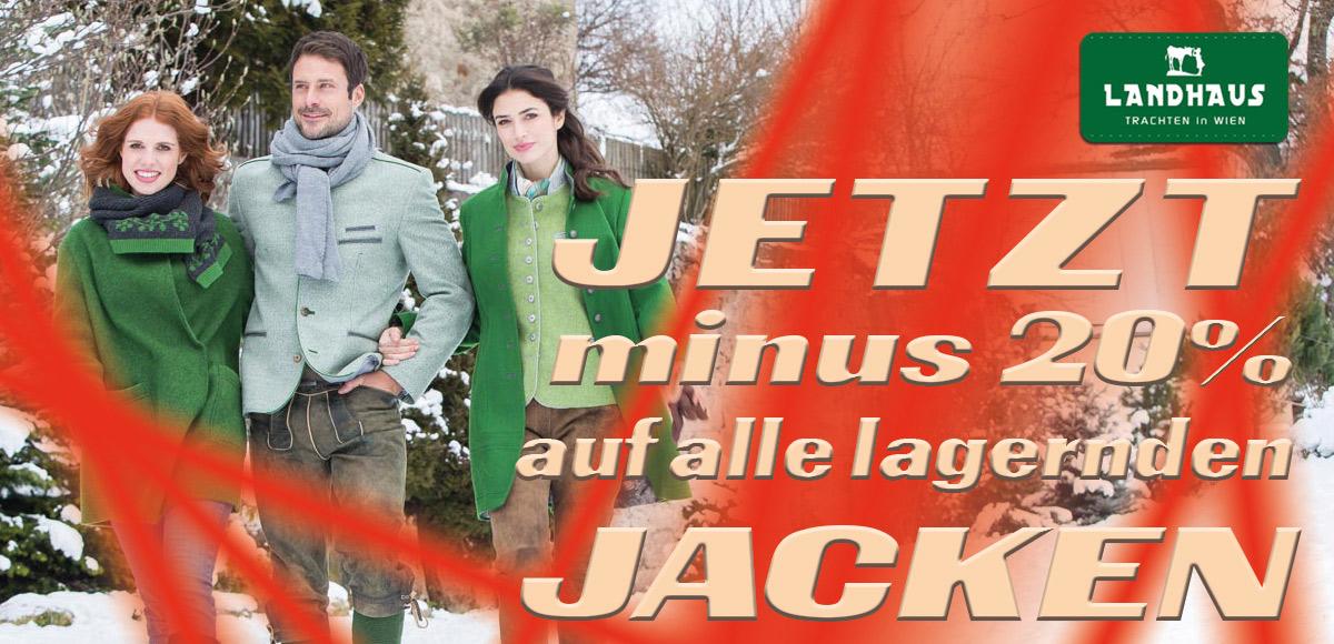 Jacken Aktion Landhaus - Trachten in Wien